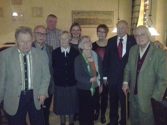 Gruppenfoto der 2014-Jubilare