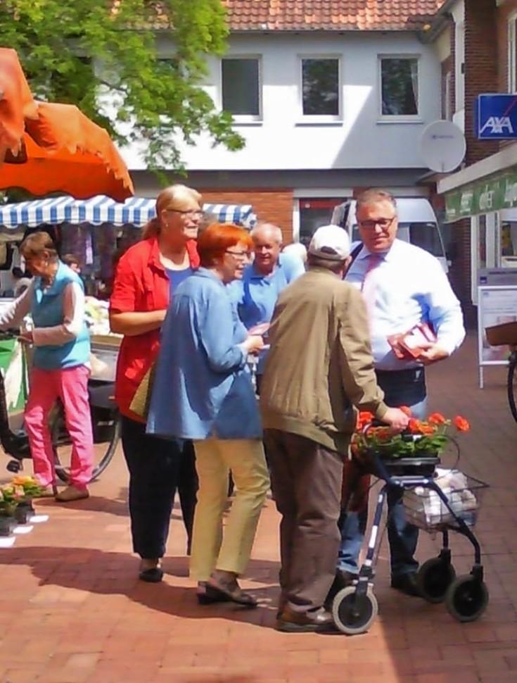 Infostand Butjerbrunnenplatz