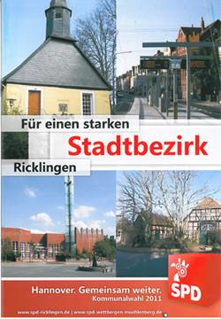 Bild vom Flyer unserem aktuellen Programm seit der Kommunalwahl 2011